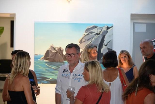 Exposition-Peintures-de-Corse-de Michelle-Auboiron-Barnes-Porto-Vecchio-2017-18