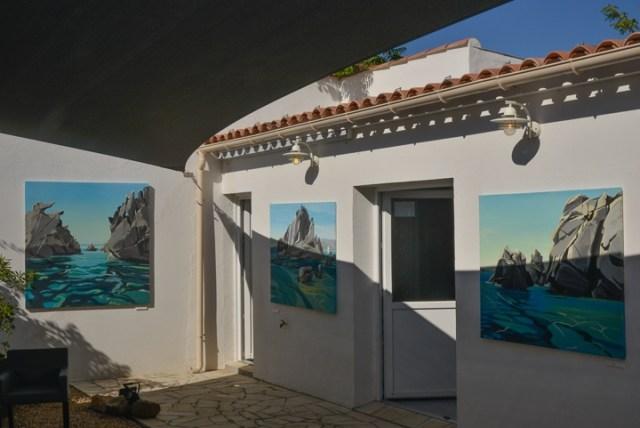 Exposition-Peintures-de-Corse-de Michelle-Auboiron-Barnes-Porto-Vecchio-2017-2