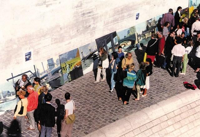Vernissage-Exposition-Les-Ponts-de-Paris-peintures-de-Michelle-Auboiron-avec-la-galerie-Verneuil-Saints-Peres-Paris-quai-du-Louvre-20