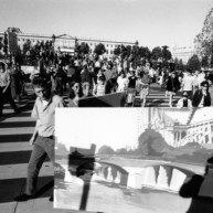 Vernissage-Exposition-Les-Ponts-de-Paris-peintures-de-Michelle-Auboiron-retour-en-fanfare-a-la-galerie-Verneuil-Saints-Peres-Paris-7 thumbnail