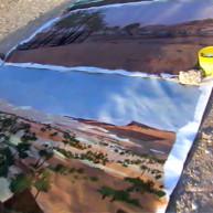 Michelle-AUBOIRON-Peintre-sur-le-Dakar-1999-14 thumbnail