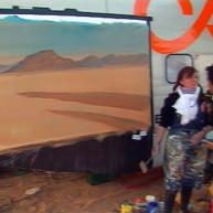 Michelle-AUBOIRON-Peintre-sur-le-Dakar-1999-8 thumbnail