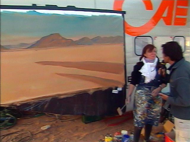 Michelle-AUBOIRON-Peintre-sur-le-Dakar-1999-8