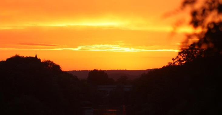 coucher soleil eure