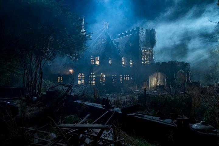 maison sérié télé haunting