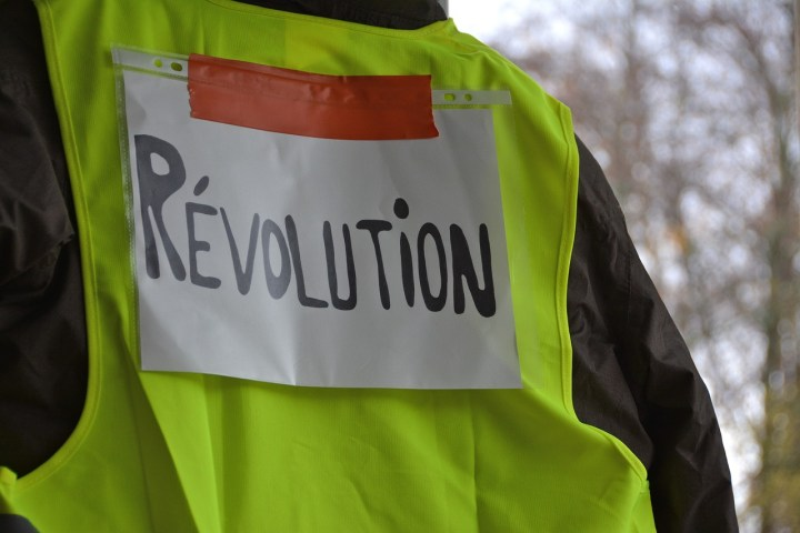 gilets jaunes paris manifestation