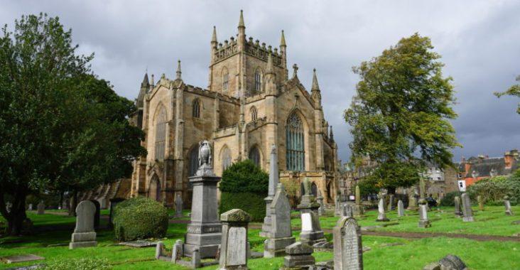 abbaye cimetière dunfermline histoire écosse road trip voyages tourisme en famille coaching conseils