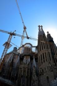 La Sagrada Familia (almost finished)