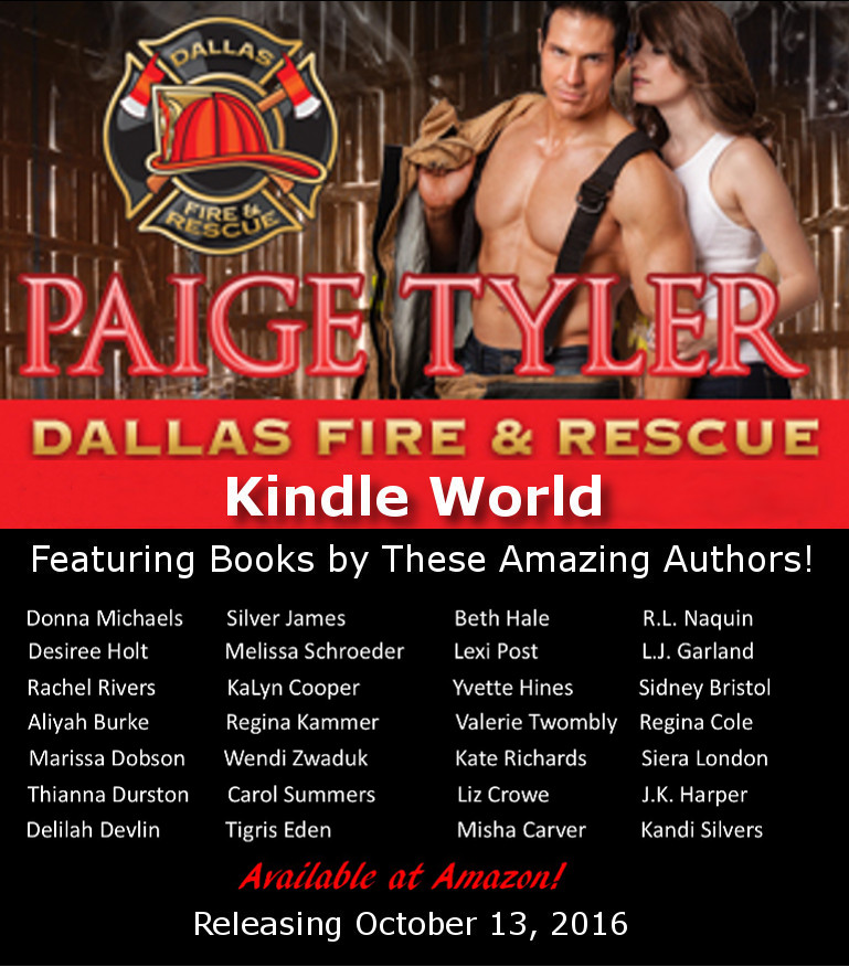 Paige Tyler's Dallas Fire & Rescue Release Day #Giveaway