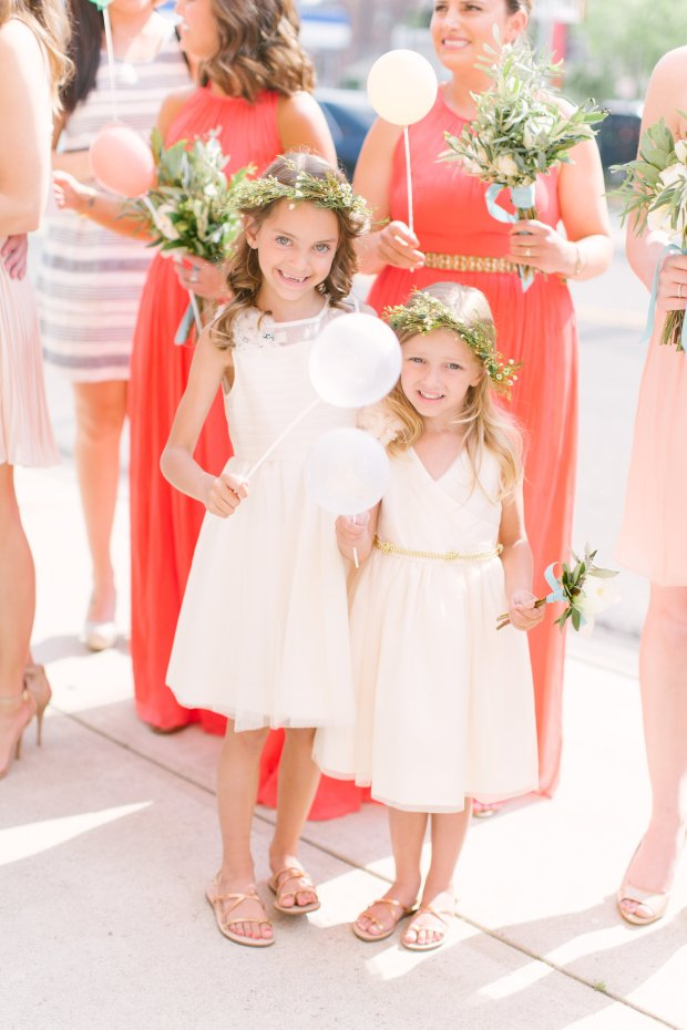 cutest flower girl styles for a summer wedding in Columbus, Ohio