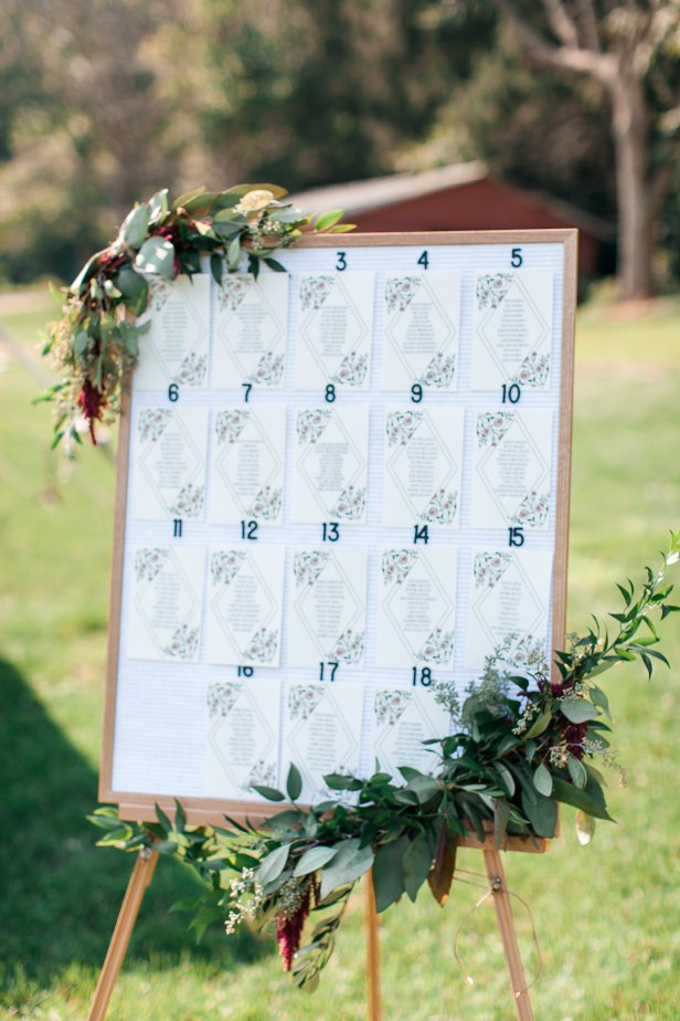 letterfolk wedding decor