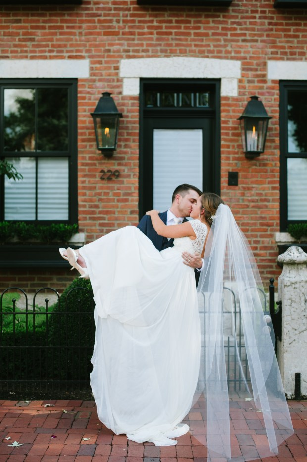 Classic Wedding Romance in Columbus Ohio