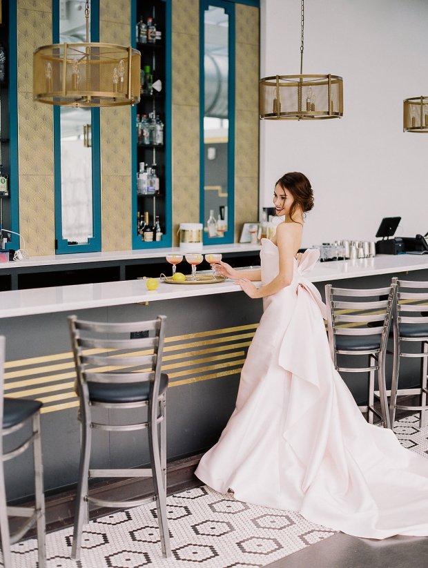 Juniper Rooftop Cocktails, Auburn + Ivory, Jenny Haas Photography, La Jeune Mariée