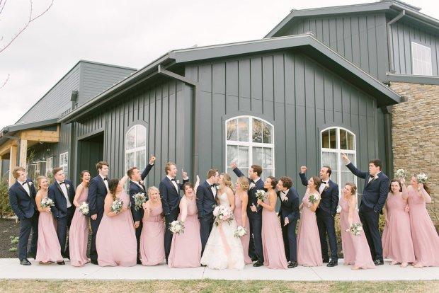 Spring wedding Estate New Albany