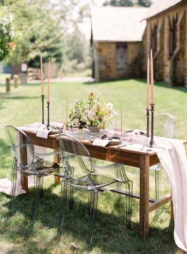 fine art table decor, ohio, auburn + ivory, old slate farm