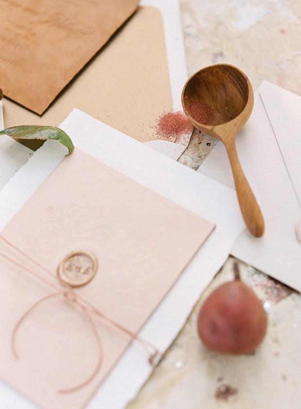 painting inspired wedding invitation,  Cheer Up Press
