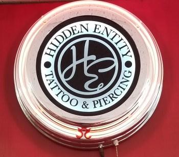 Hidden Entity, Hidden Entity Tattoo and Piercing, Auburn Tattoo, Travis Popp,