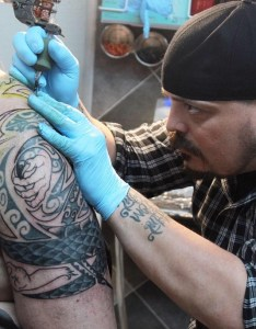 Travis Popp, Auburn Tattoo, Hidden Entity Tattoo and Piercing, Hidden Entity