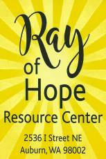 ray of hope, day shelter, auburn, auburn wa, homeless shelter