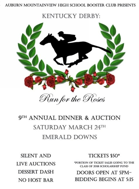 AMHS, Annual Auction, Race for the Roses,
