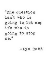 Aye Rand, Powerful women quotes, International Womens Day
