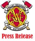 VRFA, press release, valley regional fire authority