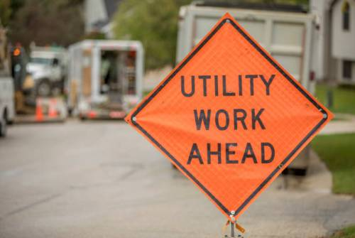 Traffic Advisory: Utility work on Auburn Way South