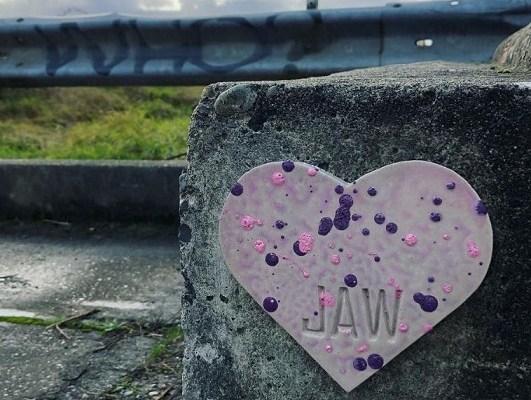 Jakobi ArtWorks, Auburn Hearts, Concrete Hearts, JAW, Hearts in Auburn, JAW Heart