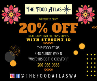 the food atlas, the food atlas auburn, auburn wa restaurant, city of auburn, the current, green river college, city of auburn, college discount