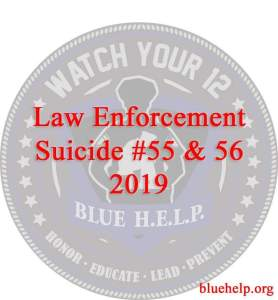 Blue help, officer suicide, one of duty deaths, law enforcement death, cop suicide