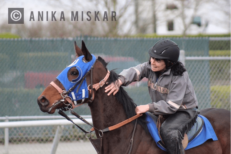 emerald downs, seattle horse racing, auburn wa race track, horse racing, anika miskar