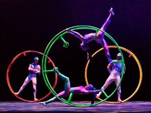 Golden Dragon Acrobats, BRAVO Performing Arts Series, Acrobat Show, Stunning acrobatics, Golden Dragon