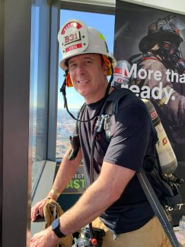 28TH Annual LLS Scott Firefighter Stairclimb, Colton Fogelberg, VRFA, Valley Professional Firefighters IAFF 1352, Firefighter stairclimb, columbia tower stairclimb, Barker vrfa, Gary Barker VRFA, Gary Barker Stairclimb, seattle stairclimb, gary barker vrfa