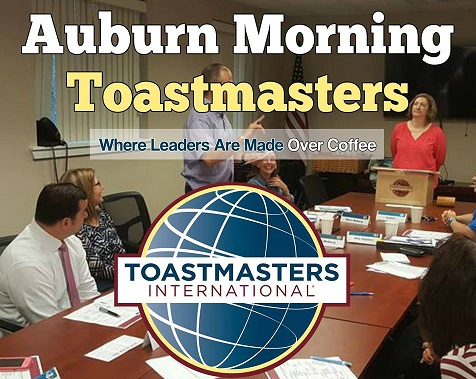 auburn morning toastmasters, toastmasters international