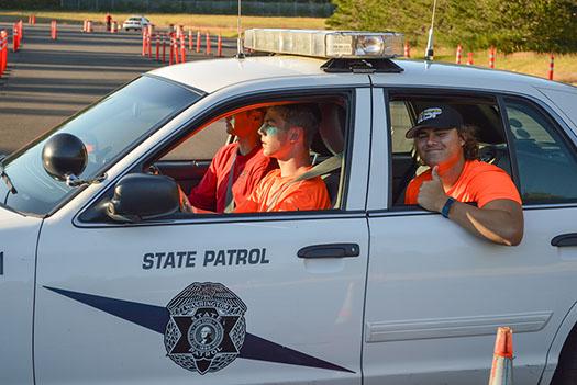 Law enforcement, law enforcement camp, WSP, Kiwanis PNW