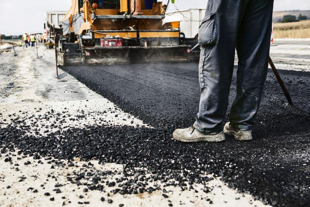 asphalt, road work, construction