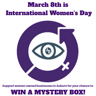 international women's day, support women-owned business