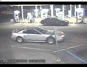 Apd. Auburn police Department. Armed robbery, get away car. Arco gas station robbery