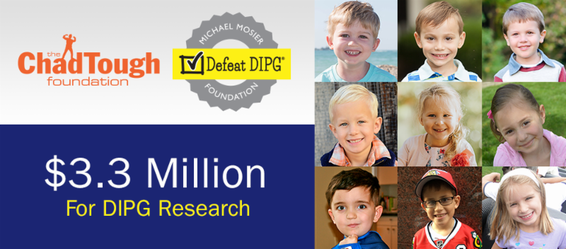 Michael Mosier Defeat DIPG Foundation, the ChadTough Foundation, avery huffman, defeat dipg,