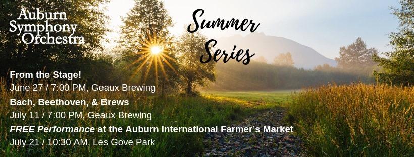 Rachel DeShon, auburn symphony, auburn symphony orchestra, mary olson farm, summer concert series, auburn wa, auburn wa symphony, geaux brewing