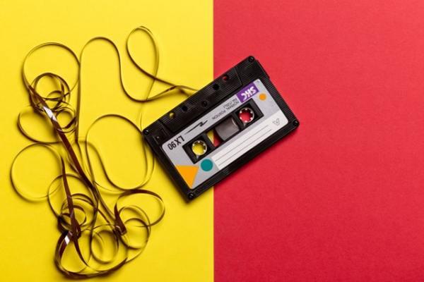 monthly playlists, cassette tape, awesome playlists, spotify playlists
