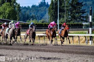 emerald downs, anika miskar, horse racing