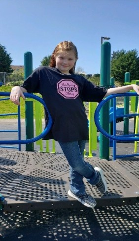 autumn smith, bullying stops here, autumn stops bullying one shirt at a time, autumn smith super kid, autumn smith stop bullying, autumn smith bully, autumn smith bully shirt,