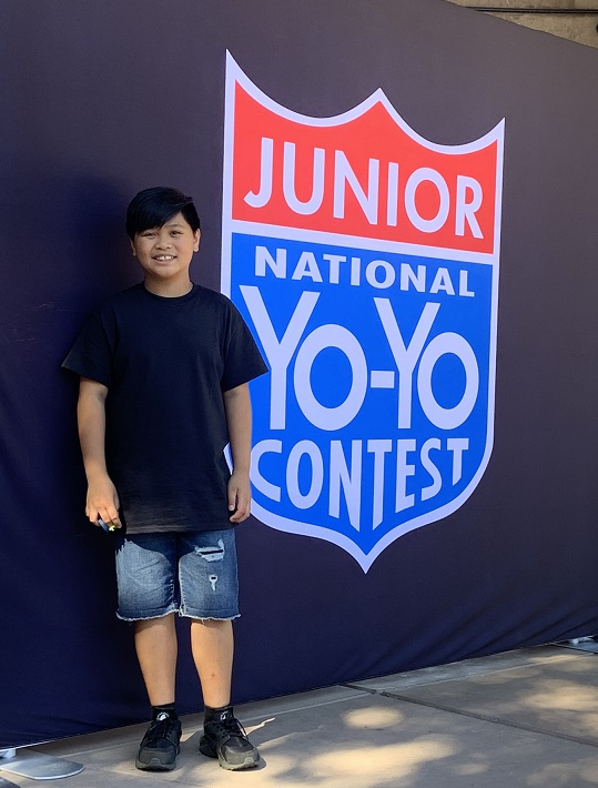 jaysen subia, yo-yo competition, junior national yo yo competition, jaysen subia auburn wa, jason subia,