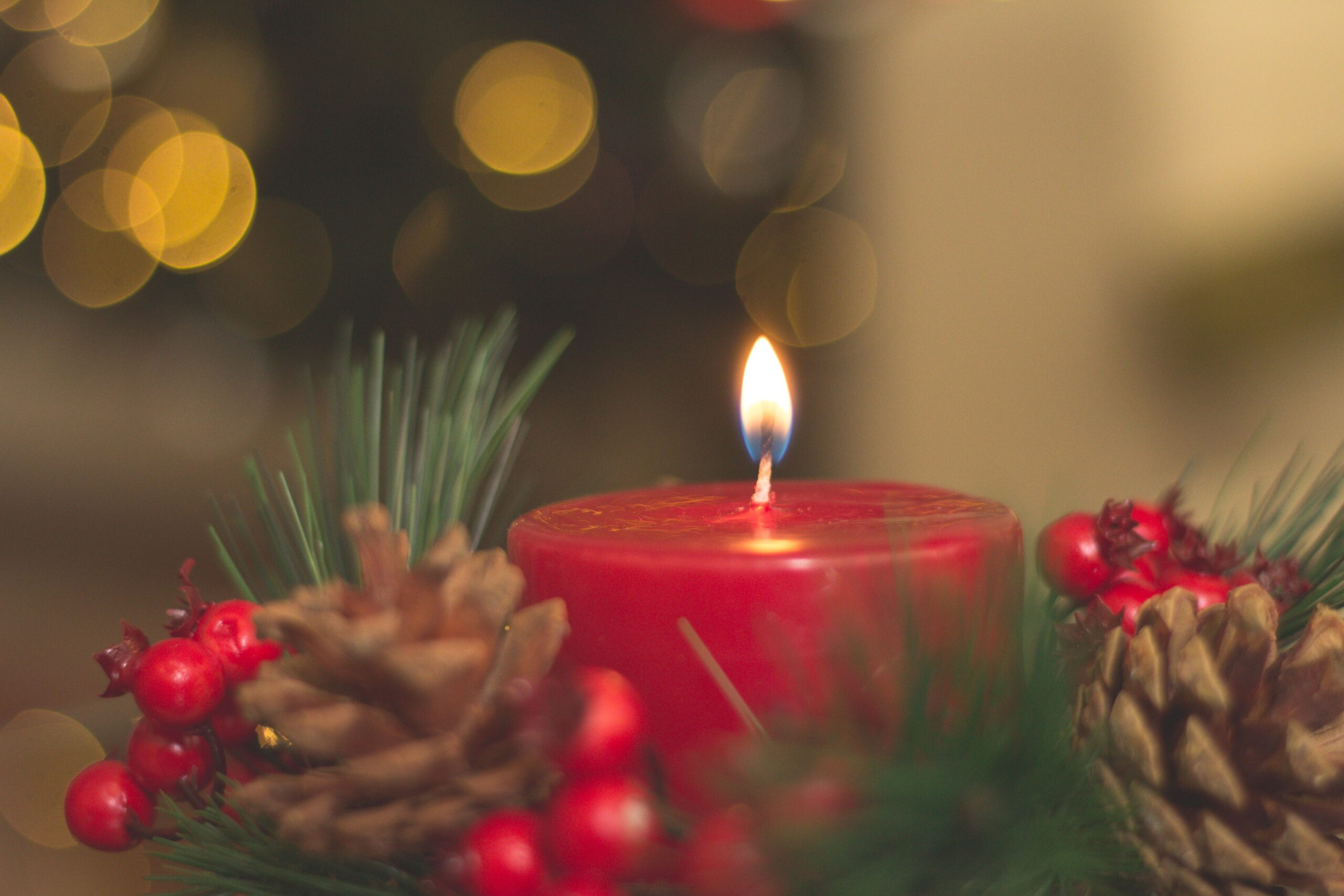holiday safety, fire prevention, candle, holiday candle, fire safety