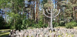 Rumbula massacre, latvia holocaust, riga latvia, rumbula forest, rumbula memorial,