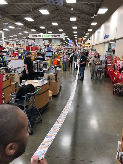 Fred Meyer, CVS receipt, valley professional fire fighters, valley professional firefighters, vrfa, valley regional fire authority, local iaff 1352, toys for kids, holiday toy drive