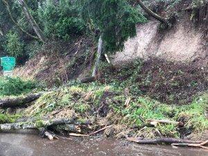 City of Pacific, west valley highway, landslide