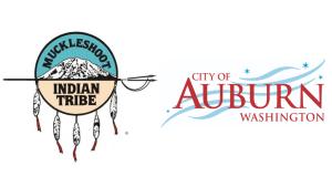 City of Auburn, auburn wa, auburn wa logo, muckleshoot Indian tribe, muckleshoot tribe, Muckleshoot Indian tribe seal,