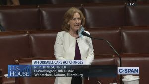 Patient Protection and Affordable Care Enhancement Act, kim schrier, congresswoman kim schrier, Patient Protection and Affordable Care Enhancement Act kim schrier house floor, PPFCEA, kim schrier floor speech PPACEA